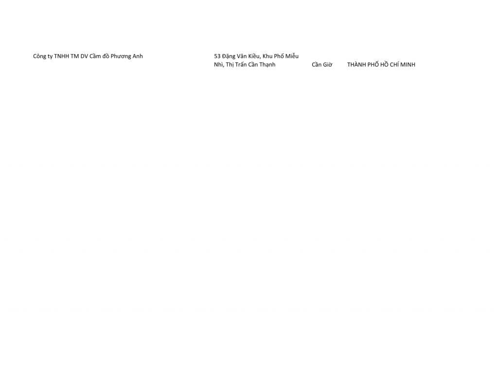 Ảnh 1 - Tổng hợp danh sách tiệm cầm đồ khu vực TPHCM